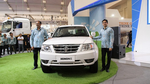 TATA Motors :  Tata Xenon XT D-Cab 4x4 Efisien Diluncurkan Di GIIAS 2016
