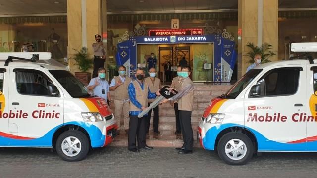 Tengok Mobile Clinic Daihatsu Gran Max, Hibah Untuk Pemerintah