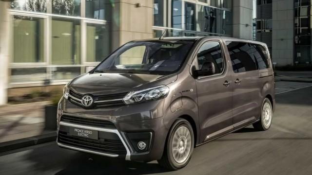 Toyota Siapkan Van Listrik Proace Verso Electric Tahun Depan