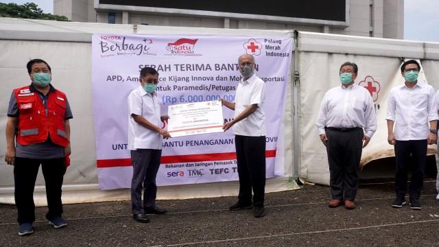 Toyota Indonesia Semakin Intensif Berikan Bantuan Penanganan Wabah Covid-19
