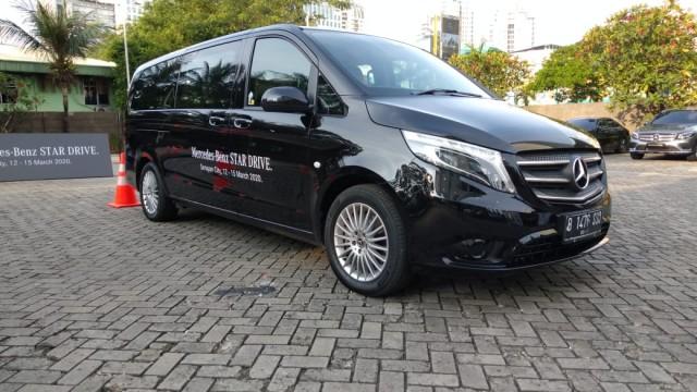 Mercedes Benz Vito, Tawarkan Interior Tailormade