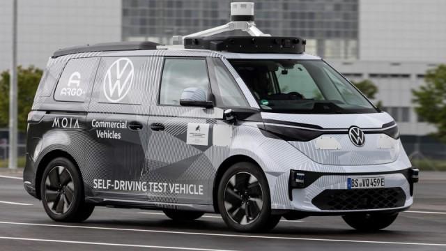Volkswagen ID.Buzz Versi Otonom Diperkenalkan September ini