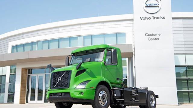 Distributor Minuman Pesan Truk Volvo Listrik Untuk Armadanya