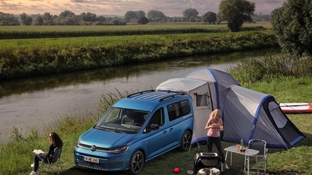 Asyik Nih, Van VW Caddy California Bisa Diajak Piknik