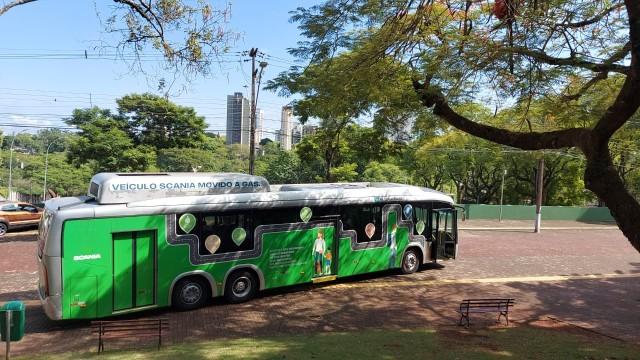Bus Biogas Scania K280 6X2 Kini Berdinas, Lebih Ramah Lingkungan