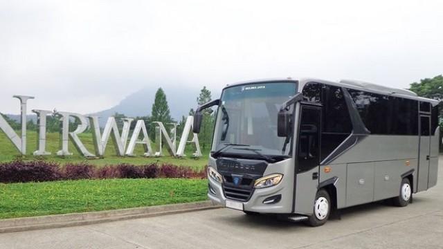 Karoseri Delima Jaya Rilis Bodi Medium Bus Baru Tanpa Double Glass