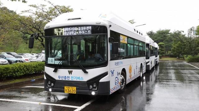 Pengisian Baterai Bus Listrik Tanpa Kabel Akan Hadir Di Korea Selatan