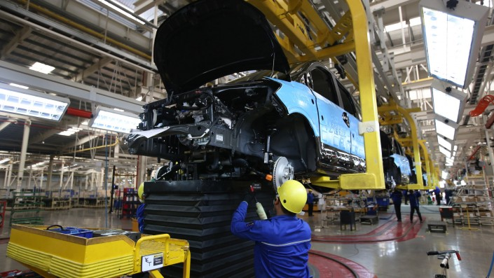 Paska Corona, Pabrik Mobil Di Tiongkok Kembali Beroperasi