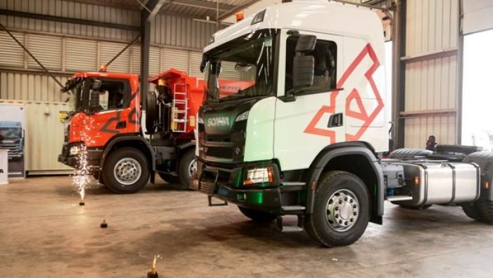 Seri Truk Scania XT Terbaru Diluncurkan di Ghana, Dilengkapi Side Airbags dan Pengaman Bumper