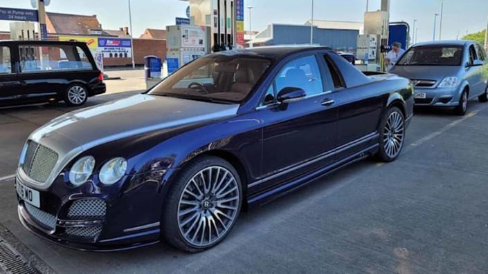 Banyak Uang Dan Gemar Pikap, Jadilah Bentley Continental Flying Spurs Pikap