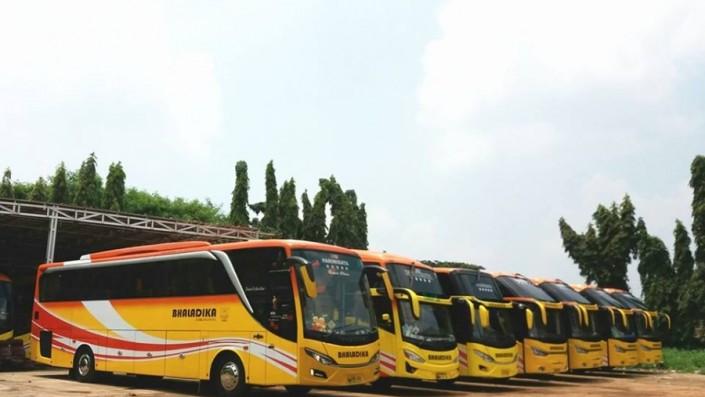 Efek PSBB Total Jakarta, PO Bhaladika Stop Operasi Sementara