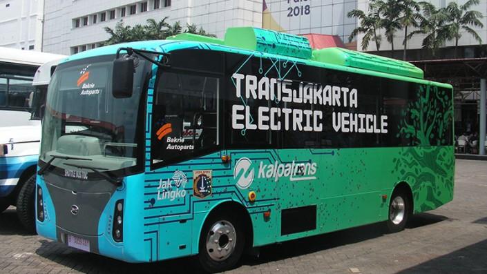 Gratis Nih, Layanan Uji Coba Bus Listrik Transjakarta