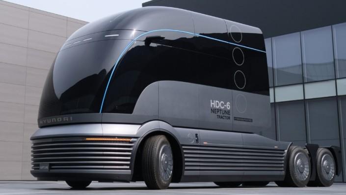 Belum Produksi Massal, Truk Hyundai HDC-6 Neptune Sukses Raih Penghargaan