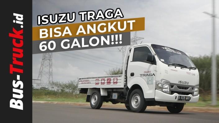 Video: Isuzu Traga, Si Extra Lega