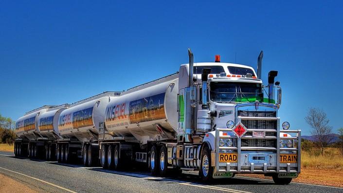 Australian Road Train, Truk Gandeng Terpanjang Dan Terberat Di Dunia
