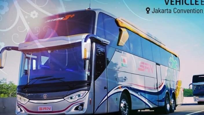 Persaingan Bodi Bus Baru Di GIICOMVEC 2020 Makin Seru