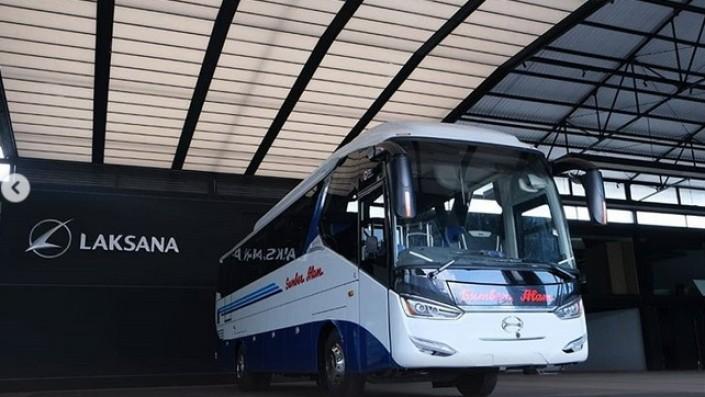 Sumber Alam Pemberangkatan Pagi Rute Yogya-Poris, Pakai Bus Social Distancing