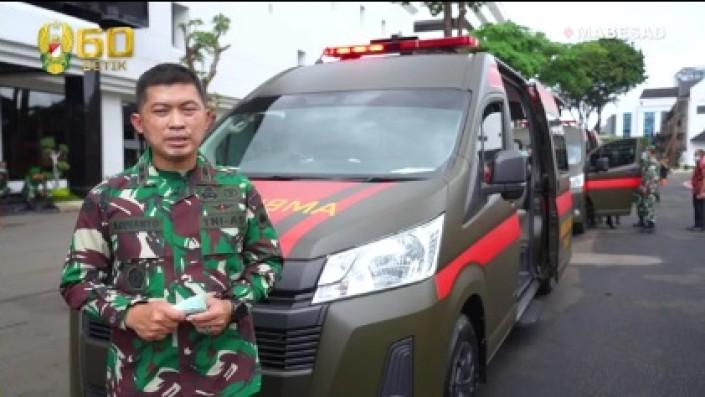 Toyota HiAce Commuter Ambulance Siap Jadi Andalan TNI AD Hadapi Covid