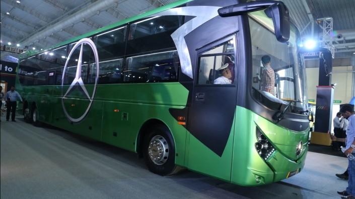 Busworld India 2018: Dreamz, Sleeper Bus Double Decker Nan Mewah dengan Panjang Hampir 15 Meter